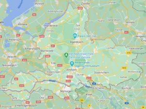 gelderland route beschrijving teststraten en testlocaties van - test met pcr testen esneltesten en de gewone corona testeen - coronatest-apeldoorn.com